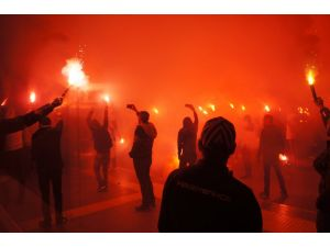 Fenerbahçe Ülker'e coşkulu karşılama