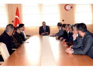 Milli Eğitim Yatırımları İçin Değerlendirme Toplantısı Yapıldı