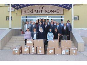 Çan'da İhtiyaç Sahibi Öğrencilere Kıyafet Yardımı