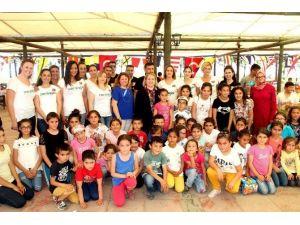 Mersin GİAD, 23 Nisan'ı Köy Çocuklarıyla Kutladı