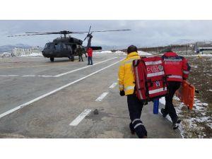 Helikopter Ambülans 2015 Yılında 302 Hasta Taşıdı