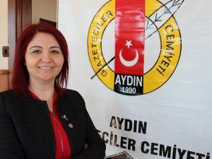 """Aydın Gazeteciler Cemiyeti'nden """"Basın Sitesi"""" Projesi"""