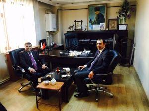 Müdür Kırekin'den Başkan Berge'ye Ziyaret