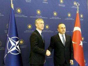 Bakan Çavuşoğlu NATO Genel Sekreteri Stoltenberg İle Görüştü