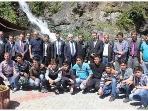 Suriyeli Öğrenciler Çamlıhemşin'de Misafir Edildi