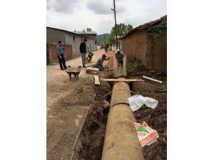 Lapseki Kaymakamı Şahin Köylerdeki Alt Ve Üst Yapı Yatırımlarını İnceledi