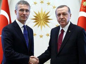 Cumhurbaşkanı Erdoğan NATO Genel Sekreteri Stoltenberg'i kabul etti
