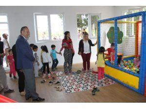 Didim'de Hayırseverin Yaptırdığı Oyun Salonu Açıldı