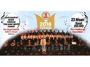 Bilecik Belediyesi Türk Sanat Müziği Korosu'ndan ''Bilecik Türküleri'' Konseri