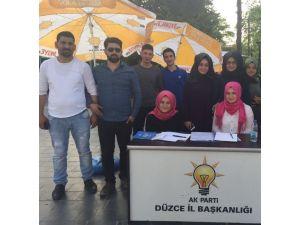 AK Parti Gençleri Davet Ediyor