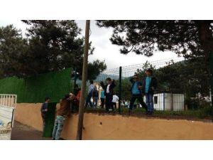 Kartepe'de Okul Duvarları Yeşilleniyor