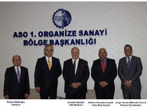Küba Ve Panama Büyükelçileri ASO 1. OSB'de