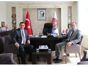 MHP Eskişehir İl Başkanı Sever'den, Başkan Gündoğan'a Ziyaret