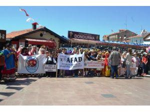 Ayvalık İlçe Milli Eğitim Müdürlüğü 3. Uluslararası Halk Oyunları Şenliği Başladı