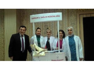 Canik'te Vatandaşlar Kanser Konusunda Bilinçlendiriliyor