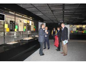 Kültür, Turizm Ve Çevre Komisyonu Üyeleri Maden Müzesinde İncelemelerde Bulundu