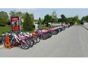 Kampüste Bisikletli Günler Başladı