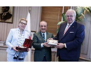 Almanya Büyükelçisi Erdmann'dan GAÜN'e Ziyaret