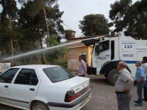 Suriye Sınırındaki Yangına TOMA Müdahale Etti