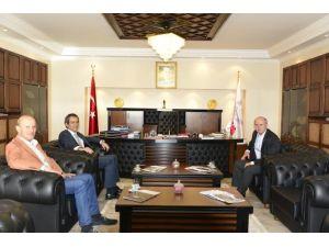 BEÜ, Üniversite Sporları Federasyon Başkanı Kemal Tamer'i Ağırladı