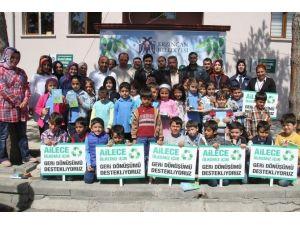 Erzincan Belediyesi Geri Dönüşüm Eğitimlerine Devam Ediyor