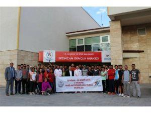 Erzincan'da Tenis Antrenör Kurusu Açıldı