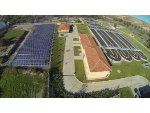 Güneş panellerinden yılda 240 bin kWh elektrik üretilecek