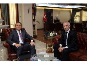 AK Parti İl Başkanı Temurci, Başkan Kılıç'ı Ziyaret Etti