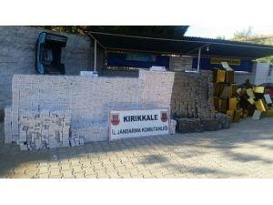 Kırıkkale'de 30 Bin Paket Kaçak Sigara Ele Geçirildi
