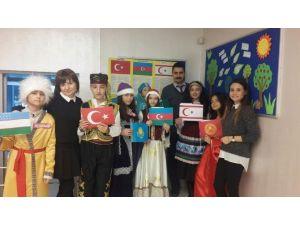 """Öğrencilerden """"Türk Dünyası Haftası""""na Coşkulu Kutlama"""