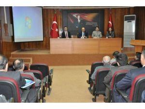 Vali Yavuz İl Müdürleriyle İstişare Toplantısı Yaptı
