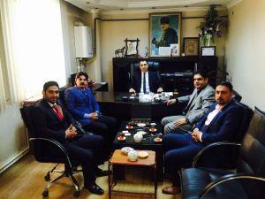 CHP'den Başkan Berge'ye Ziyaret