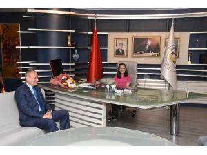 Başkan Mehmet Keleş Koltuğunu Devretti