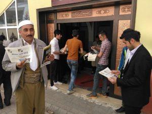 Hakkari Aihl Bin Adet Gazete Dağıttı