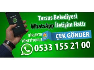 Tarsus Belediyesi Whatsapp İletişim Hattı Kurdu