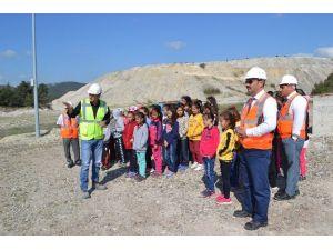 Minik Öğrenciler Bor Madenini İnceledi