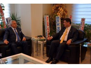 Tesk Genel Başkanı Palandöken'den Dere'ye Hayırlı Olsun Ziyareti