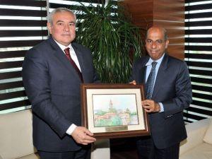 Sri Lanka Büyükelçisi ATSO'da