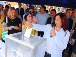 Aydın Tekstil alanı için referandum başladı