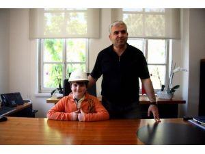UEDAŞ Genel Müdürü Koltuğunu Çocuklara Bıraktı