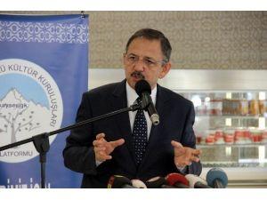 """Mehmet Özhaseki: """"Paralel Yapı Fabrika Kodlarına Dönerse Mücadele Biter"""""""