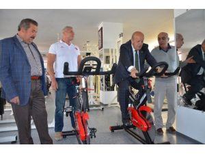 Sargın Fitness Salonu Açtı