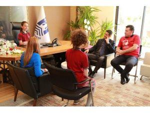 Bodrum'da Çocuklar Belediye Başkanı Oldu