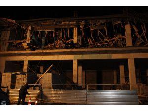 Aydın'da belediye inşaatında göçük: 4 işçi yaralı