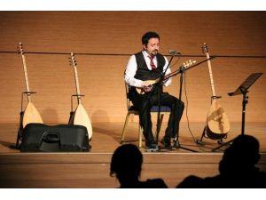 NEÜ Öğretim Görevlisi Yavuz Selim Kaleli'den Bağlama Resitali