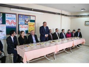 Bolu Belediye Başkanı Yılmaz Ebelerle Bir Araya Geldi