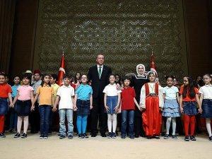 Cumhurbaşkanı Erdoğan: Biz çocuklarımıza güveniyoruz