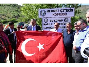 Mehmet Yaşar Öztekin Köprüsü Düzenlenen Tören İle Açıldı