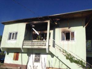 Müstakil Evde Yangın Çıktı