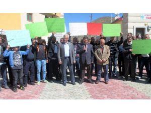 Bayburt'ta Sanayi Esnafı Kepenk Kapattı